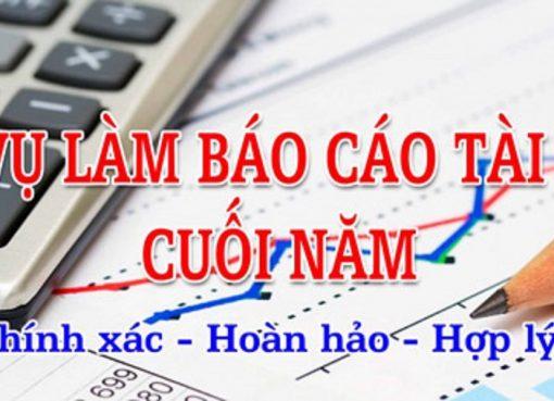 1ketoan cung cấp dịch vụ báo cáo tài chính cuối năm