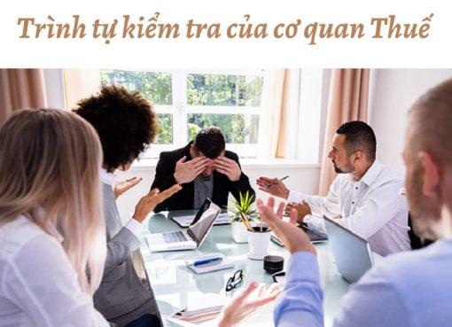 Trình tự kiểm tra của cơ quan thuế khi quyết toán thuế