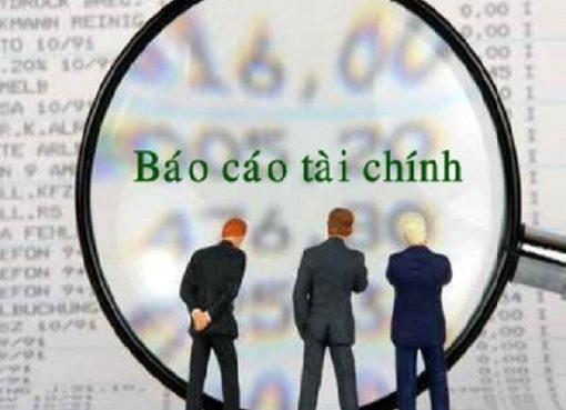 Quy định về lập và nộp báo cáo tài chính cuối năm