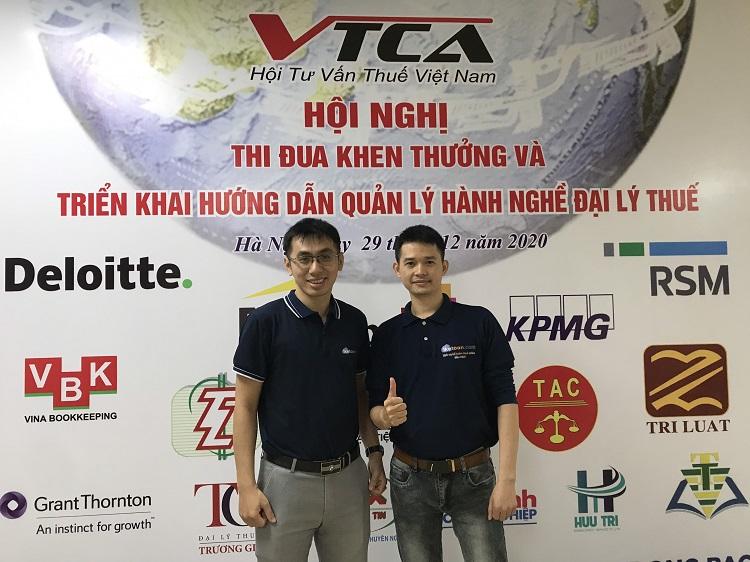 1ketoan.com Tham Gia Hội Nghị Tổng Kết của Hội Tư vấn Thuế Việt Nam
