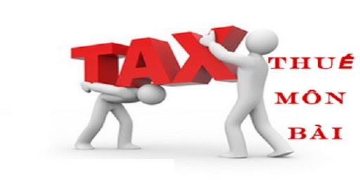 Lệ phí thuế môn bài