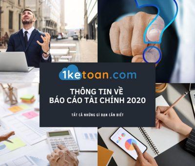 Thông tin về báo cáo tài chính 2020
