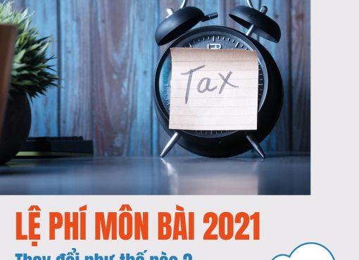 Thông tin về tờ khai lệ phí thuế môn bài